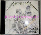 Slash metallica and justice for all Czech board 24k gold cd