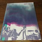 deep purple 1972 Japan pamphlet Richie Blackmore Ian Gillan John Road Pace Roger