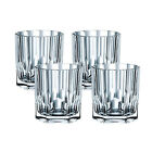 Riedel 92126 Nachtmann Aspen 114 Oz Crystal Whiskey Tumbler Set with 4 Glasses
