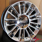 26 Platinum Style Silver Chrome inserts Wheels Fits Cadillac Escalade EXT Rims