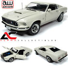 AUTOWORLD AMM1196 118 1969 FORD MUSTANG FASTBACK BOSS 429 WHITE