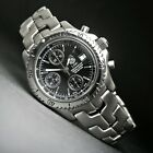 Tag Heuer Link CT5111 Black Dial Stainless Steel Chronograph Watch Calibre 16 NR