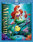 The Little Mermaid Diamond Edition Blu ray+DVD