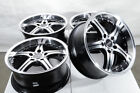 17 5x120 Black Wheels Fits Bmw 135 318 320 328 328D 325 Z3 Z4 xDrive 5 Lug Rims