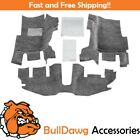 BedRug BRTJ97F 3 Piece Floor Kit for 97 06 Jeep TJ LJ with Console Floor ONLY