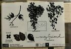 BLOSSOMS ABOUND  BRAND NEW UNMOUNTED STAMPIN UP  SET OF 7 STAMPS 2006