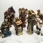 North Pole Trading Co 7pc Nativity Set 13 tall highly detailed figures