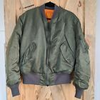 VTG Greenbrier Industries Mens Large MA 1 Bomber Jacket Flyers Made in USA