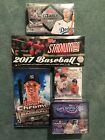 2017 Topps Chrome Stadium Club Gold Label Clearly Authentic ++ Hobby Box Lot (5)