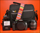 Canon EOS 600D DSLR Camera with 18-55mm Zoom Lens kit + Battery
