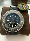 Breitling Superocean Special 44mm Black Steel Diver Watch.Full Set, Box + Papers