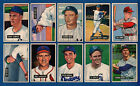 1951 BOWMAN BASEBALL CARD SET LOT 40 PAFKO FURILLO PESKY WYNN BRANCA MIZE