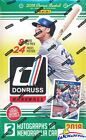 2018 Donruss Baseball Factory Sealed 24 Pack HOBBY Box-192 Cards-3 AUTOGRAPH MEM