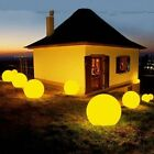 Led Garden Ball Night Lights Waterproof Pool Floating Lamp Decor Remote Control