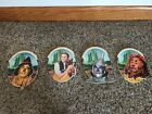 1997 Wizard of Oz Ornaments Turner Entertainment ~ Set of 4