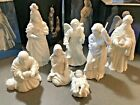 Avon Nativity Set 7 Pieces Angel Holy Family The Maji with orginial boxes
