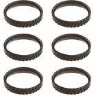 Zodiac Baracuda MX8 Swimming Pool Cleaner Replacement Tire Track Wheel 6 Pack