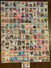 VINTAGE CARD LOT 1977 TOPPS FOOTBALL 134 CARDS