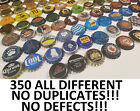 350 Beer Bottle Caps ALL DIFFERENT NO DUPLICATES BEST MIX ON EBAY
