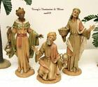 FONTANINI DEPOSE ITALY 75 RETIRED 3 KINGS NATIVITY VILLAGE FIGURES SPIDER MARK