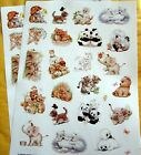 NEW Adorable Morehead Critter Friends Baby Animals 50 Acid Free Stickers