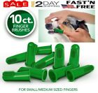 Vets Best Finger Toothbrush for Dogs  Cats Teeth Cleaning  Bad Breath 10 Pack