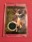 HOF REGGIE WHITE 2001 UD NFL LEGENDS SSP PACKERS GAME USED PATCH EAGLES NON AUTO
