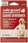 8in1 Safe Guard Canine Dewormer for Large Dogs 3 Day Treatment