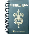 New Version Boy Scout Official Spiral Bound Handbook 14th Edition Pages Lay Flat