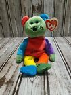 TY Frankenteddy Beanie Baby 2001 Retired w/Tag Bear Unused