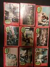 STAR WARS CARDS TOPPS 1977 1978 vintage lot RED, YELLOW, GREEN card set sets