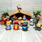 Fisher Price Little People Christmas Story Nativity Set With Box Missing Cow