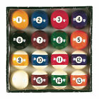 Viper High Quality Billiard Master Complete Regulation Sized 16 Pool Ball Set