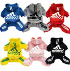 Adidog Dog Hoodies 2 4 Leg Jumpsuit Warm Sweatshirt Jacket Coat Small Breed Dogs