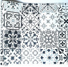 9ft Black White Vintage Contact Paper shelf wall paper peel stick self adhesive