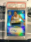 ANDREW WIGGINS 2014-2015 PANINI SPECTRA PSA 10 Game Used Jersey Rookie Auto 99