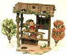 FONTANINI ITALY 5 FLOWER STAND NATIVITY VILLAGE BUILDING ACCESSORY 54078 NIB