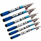 US Telescopic Fishing Rod Super Short Retractable Folding Poles for Saltwater