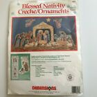 DIMENSIONS 3D Blessed Nativity 8417Creche Scene w Karen Averys Nativity Figures