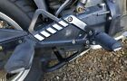 BMW K75rt Right  brake   Support Cover Panel Plate aluminium with pegs