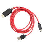 MHL Micro USB to HDMI Cable 1080p HDTV Lead for HTC Jetstream Sensation 4G
