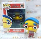 Funko Pop The Simpsons Milhouse ECCC Shared Exclusive Box Lunch in Hand NIB!