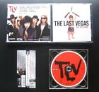 THE LAST VEGAS Bad Decisions +2 2012 JAPAN CD w/OBI OOP GLAM SLEAZE WARRIOR SOUL