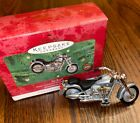 2000 Fat Boy Hallmark Ornament Harley Davidson Motorcycle Milestone