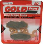 Kymco Spike 125 R Brake Disc Pads Rear R/H Goldfren 2004-2006
