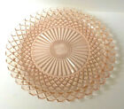 Anchor Hocking Pink Glass Miss America Large Round Cake Plate or Tray 14