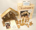 Fontanini Nativity Stable Set 99319 Stable Roman Wedding Creche Christmas in Bo