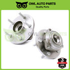Pair Of 2 Front Wheel Hub Bearing Assembly Fit 2005 2009 Dakota Raider RWD 4WD