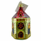 Christopher Radko ARTHURS CHAPEL Blown Glass Ornament Religious Christmas