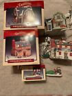 Lot Of lemax caddington christmas village houses